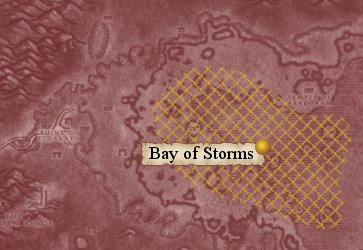 Map: Bay of Storms.