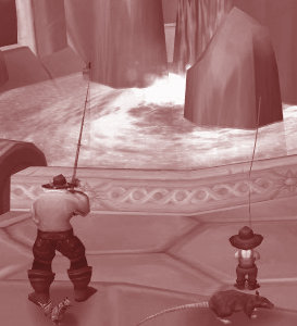 Dalaran's Eventide Fountain