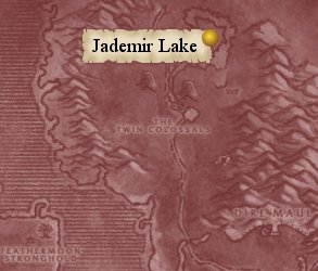 Map: Jademir Lake.