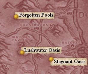 Map: Oasis in the Barrens.